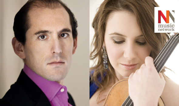 Newry Chamber Music and Music Network present Chloë Hanslip violin and Danny Driver piano - Monday 4th April 2016, 8pm